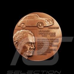 Hochrelief-Medaille Bronze Ferdinand Porsche & Ferry Porsche