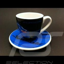 Tasse expresso Porsche 997 Speedster bleu