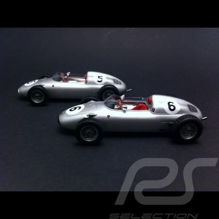 Duo Porsche 718 F2 Solitude 1960 n°5 / 6 1/43 Truescale TSM114309 / TSM114310
