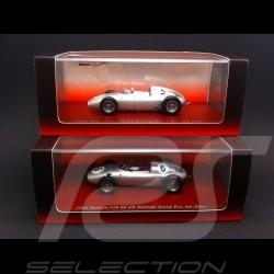 Duo Porsche 718 Solitude 1960 n°5 / 6 1/43 Truescale TSM114309 / TSM114310