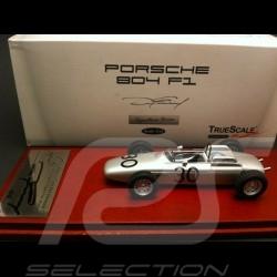 Porsche 804 GP de France 1962 signature Dan Gurney 1/43 Truescale TSM10553