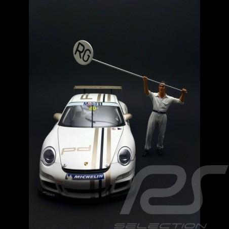 Manfred der Mechaniker 1/18 Diorama modell FLM118002