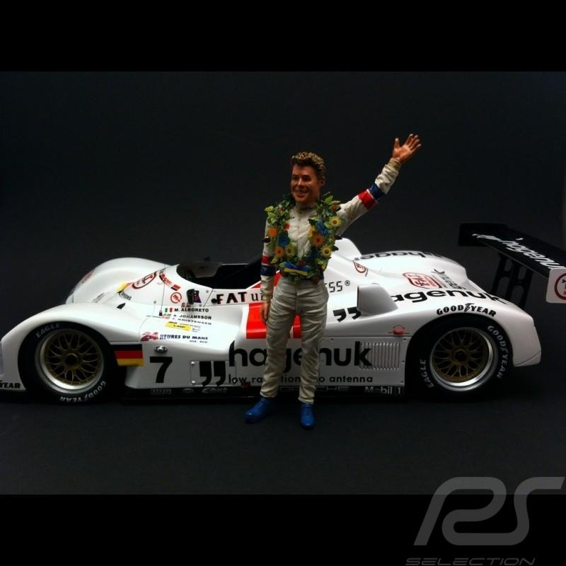 Tom Kristensen 1/18 Diorama modell FLM118009