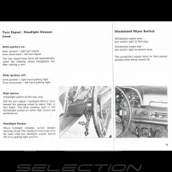 Reproduction user manual Porsche 914 1971