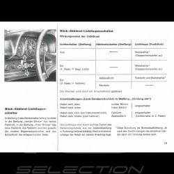 Reproduction user manual Porsche 914 /6 1971