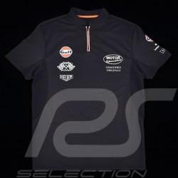 Men's Polo shirt Gulf Sport navy blue