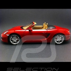 Porsche Boxster S type 981 2012 rouge 1/18 Minichamps 110062031