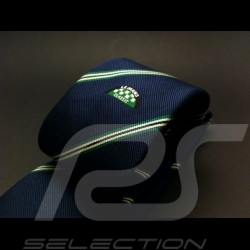 Alain Figaret Le Mans Classic thin tie navy  blue