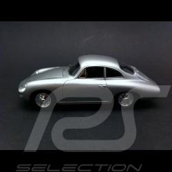 Porsche 356 B 1600 Reutter Ghia Aigle 1961 argent 1/43 Matrix MX41607011