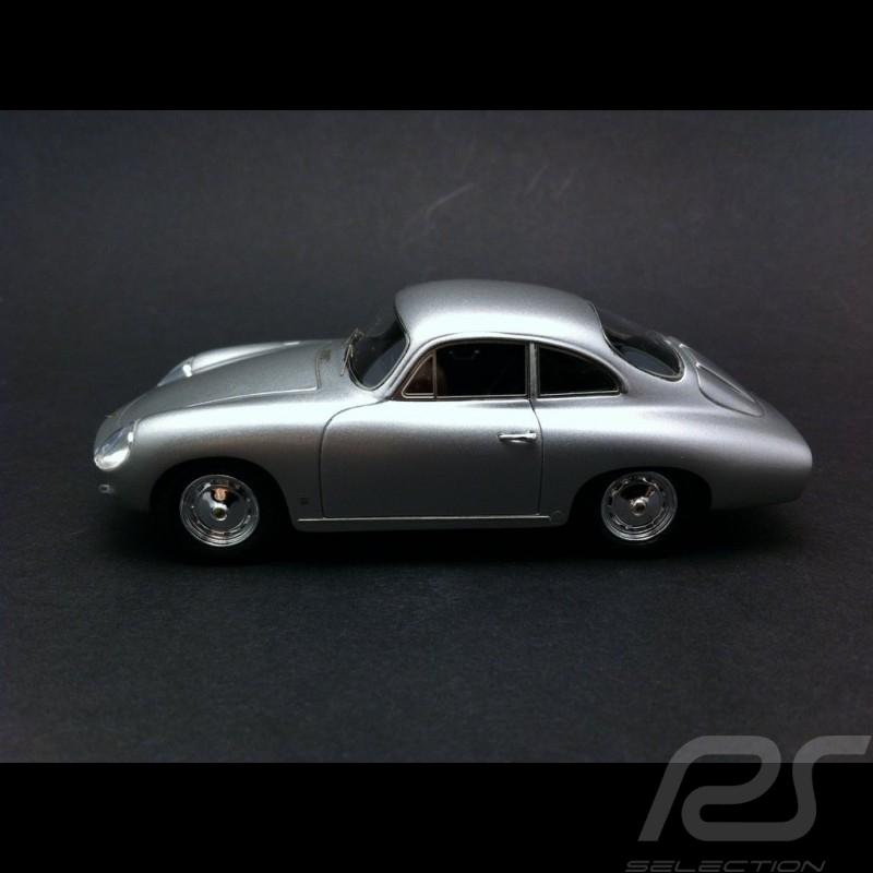 Porsche 356 B 1600 Reutter Ghia Aigle 1961 silber 1/43 Matrix MX41607011