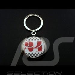 Porte-clés métal 24 h du mans Alain Figaret