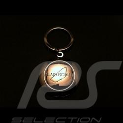 Porte-clés métal 24 h du mans Alain Figaret Metal keyring Metal Schlüsselanhänger