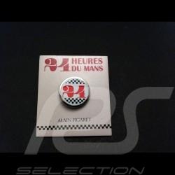 Button Wappen 24 h du Mans Alain Figaret