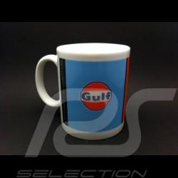 Tasse Gulf blau / orange