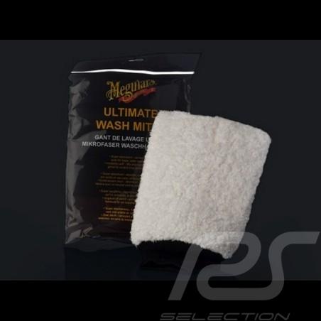 Gant de lavage Microfibre Ultime Meguiar's E102EU Microfiber Wash Mitt  Mikrofaser Waschhandschuh