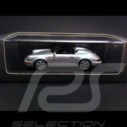 Porsche 911 type 964 Speedster argent 1/43 Spark CAP04311011