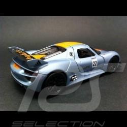Porsche 918 RSR n° 22 Spielzeug Reibung Welly