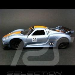 Porsche 918 RSR n° 22 jouet à friction Welly