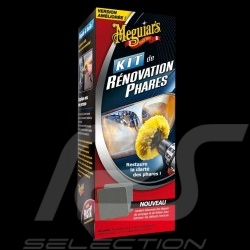 Kit de rénovation phares Meguiar's G1900 Headlight Restoration Scheinwerfer Renovierung und Polieren