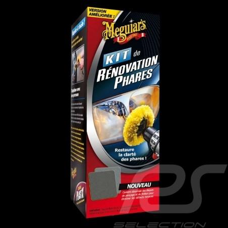 Kit de rénovation phares Meguiar's G1900 Headlight Restoration Scheinwerfer Renovierung und Polieren