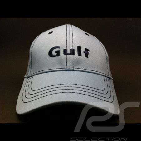 Gulf vintage Cap blau logo Visier