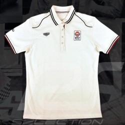 Damen Polo-shirt Gulf Spirit of Racing weiß