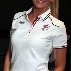 Women's Polo shirt Gulf Spirit of Racing white