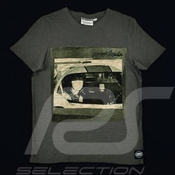 Men's T-shirt Steve McQueen Le Mans grey