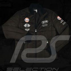 Blouson matelassé homme Gulf noir Gulf quilted jacket black - Men Herren Steppjacke Gulf schwarz