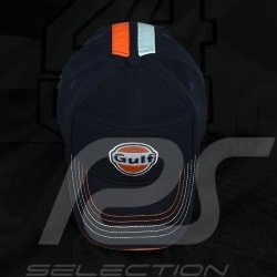 Casquette Gulf bandes racing bleu / orange