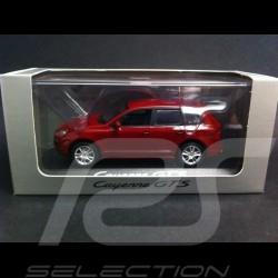 Porsche Cayenne GTS red 1/43 Minichamps WAP02000818