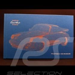 """Livre """" Porsche Turbo Stories """" bleu"""