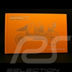 """Livre """" Ferdinand Porsche pionnier de l'automobile hybride """" jaune"""