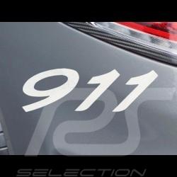 Autocollant lettres 911 transfert weiß 7.7 x 2.7 cm