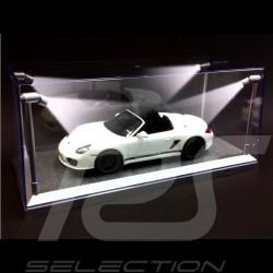 Boite vitrine 1/18 eclairage LED argent 189922 LED Lighted Display Case LED-Beleuchtung