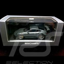 Porsche 991 GT3 RS 2015 grauschwarz 1/43 Minichamps CA04316005