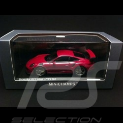 Porsche 991 GT3 RS 2015 Sternrubin 1/43 Minichamps CA04316008