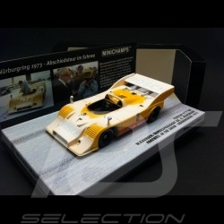 Porsche 917 / 10 Nürburgring 1973 n° 2 Bosch farewell in the snow 1/43 Minichamps 437736592
