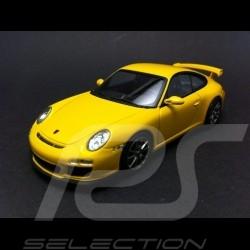 Porsche 911 type 997 GT3 II  jaune 2009