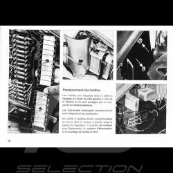 Reproduction manuel technique Porsche 911 T-E-S 1973