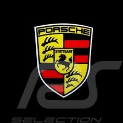 Autocollant Porsche écusson ancien 6.6 x 5.2 cm