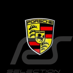 Autocollant Porsche écusson ancien 3.7 x 4.7 cm