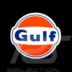 Gulf logo sticker 14.5 x 13 cm