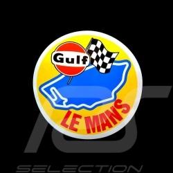Autocollant Gulf Le Mans Ø 9 cm