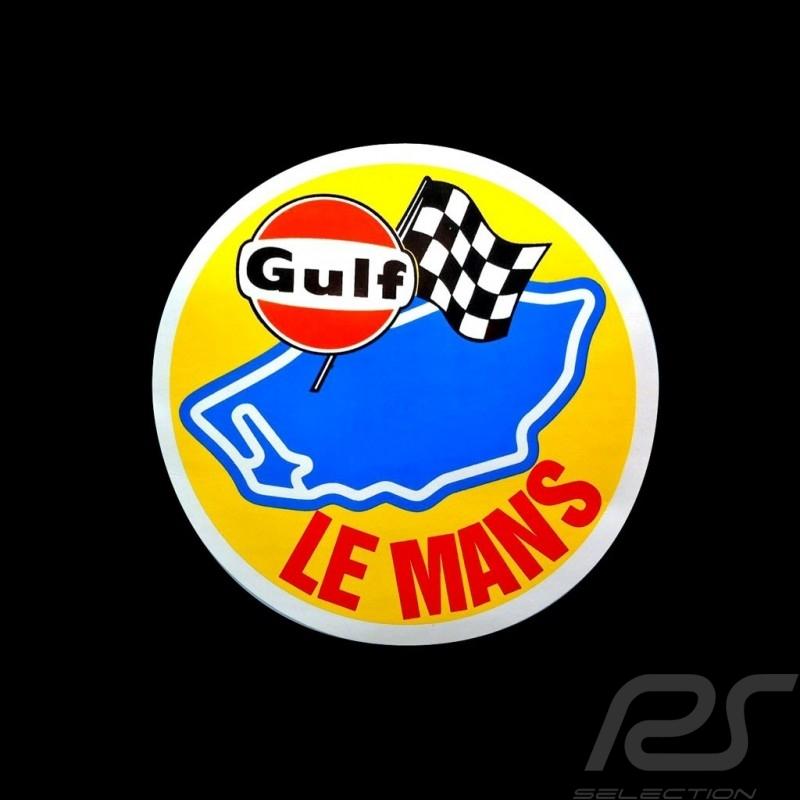Gulf Le Mans sticker Ø 9 cm