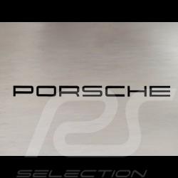 Autocollant lettres Porsche transfert noir 15.3 x 1 cm