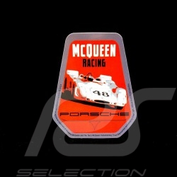 Autocollant Mc Queen Racing Porsche 6 x 8 cm