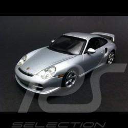 Porsche 996 GT2 2001 silver 1/43 Minichamps WAP02007311