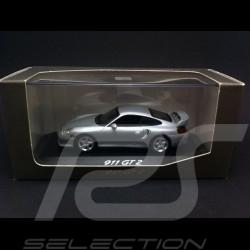 Porsche 996 GT2 2001 argent 1/43 Minichamps WAP02007311