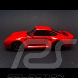 Porsche 959 komfort rouge 1/43 Spark S4477